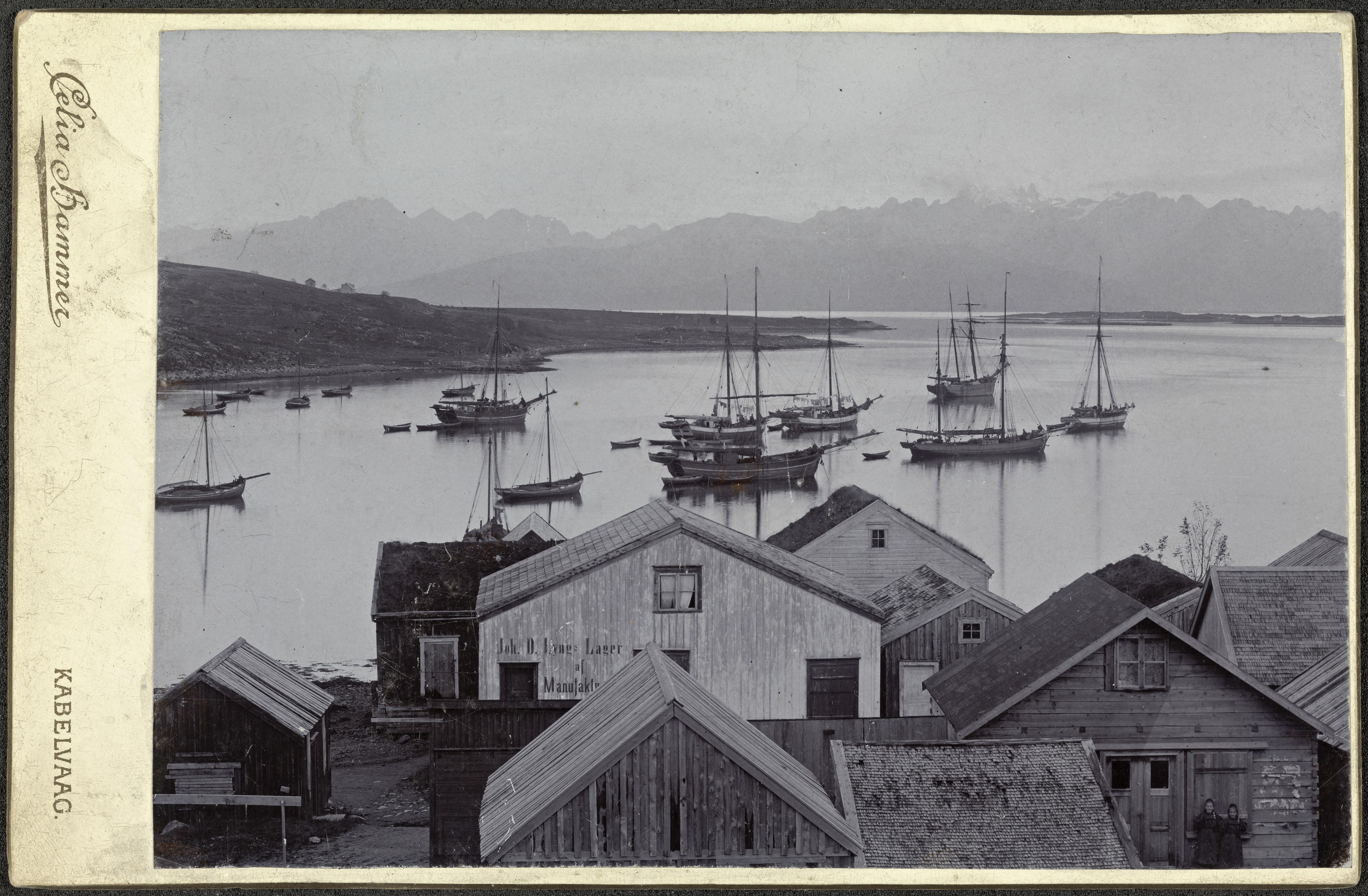 Kabelvåg, ca. 1900-1905