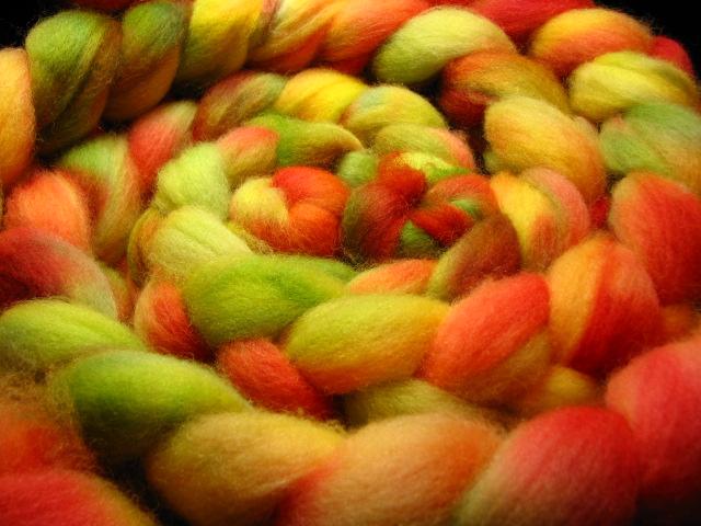 First Day of Fall - Shetland Wool