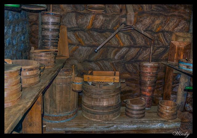 Interior de la granja Glaumbaer