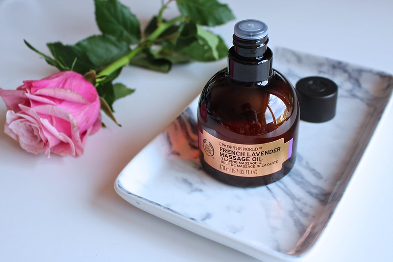 thebodyshop, frenchlavenderoil, massageoil, beautyblog,