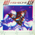 "WISHBONE ASH HOT ASH LIVE 12"" VInyl LP"