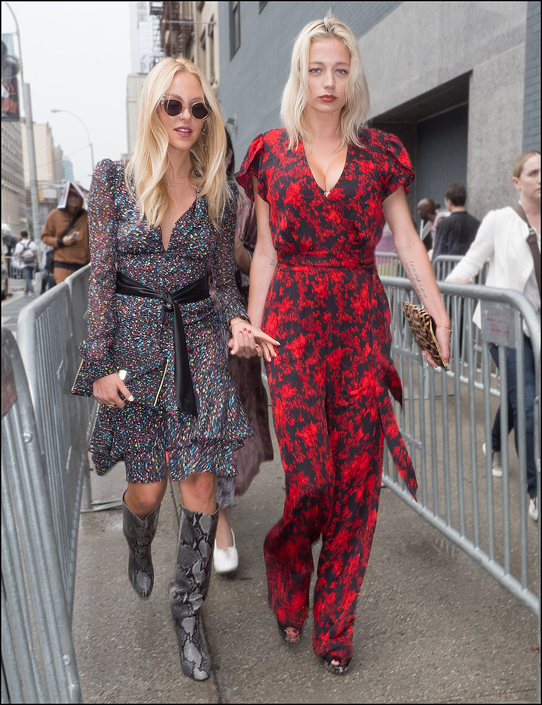 Arrive at DVF NYFW 9-2015
