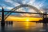 Yaquina Bay Bridge by R. Kent Squires