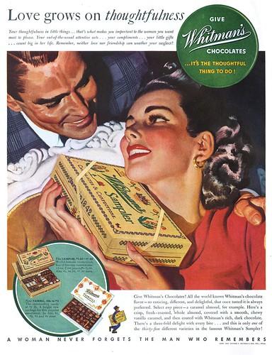 Whitman's Sampler - 19401116 Post
