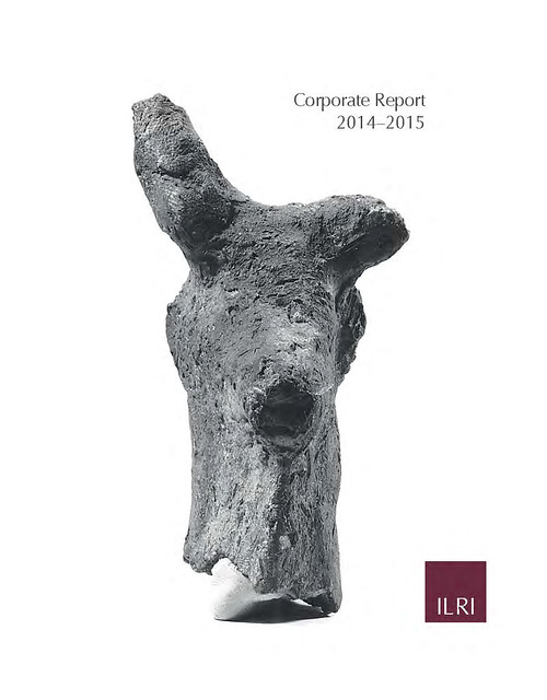 Cover of the ILRI Corporate Report 2014–2015