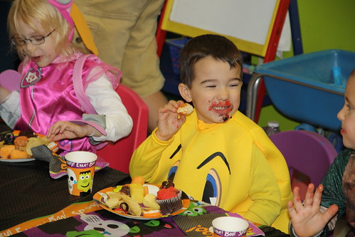 Pre-K Halloween Party 2015