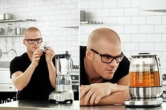Celebrity chef Heston Blumenthal promotes Breville products