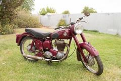 1957 BSA C12