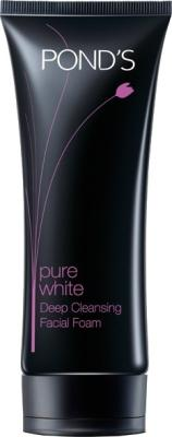 Best Face Wash for oily skin - Ponds Pure White Deep Cleansing Facial Foam