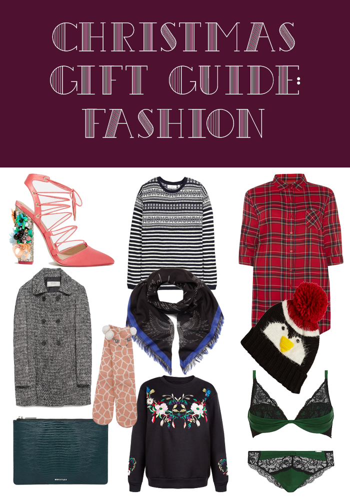 Christmas Gift Guide: Fashion/Accessories