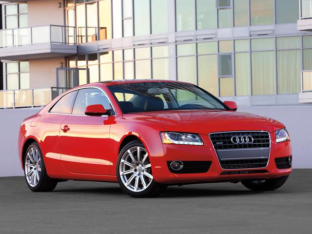 Купе Audi A5 первого поколения. 2007 год