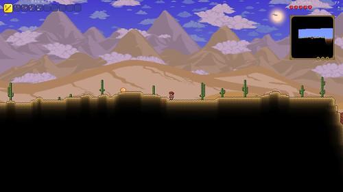 砂漠のエリア