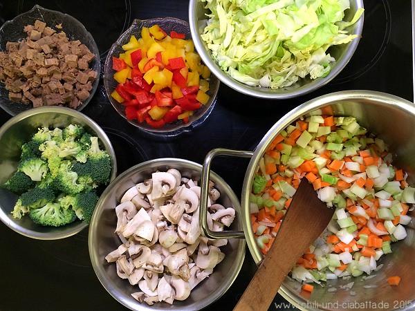 """Gemüse für eine """"Rumfort""""-Suppe"""