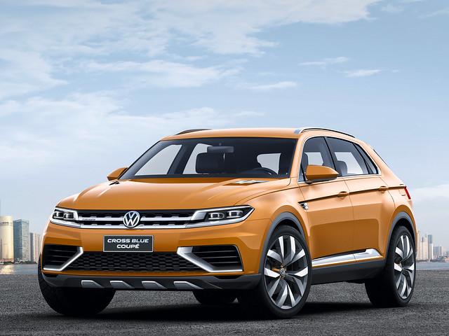 Концептуальный кроссовер Volkswagen CrossBlue Coupé. 2013 год