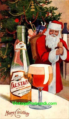 Merry Christmas from Falstaff