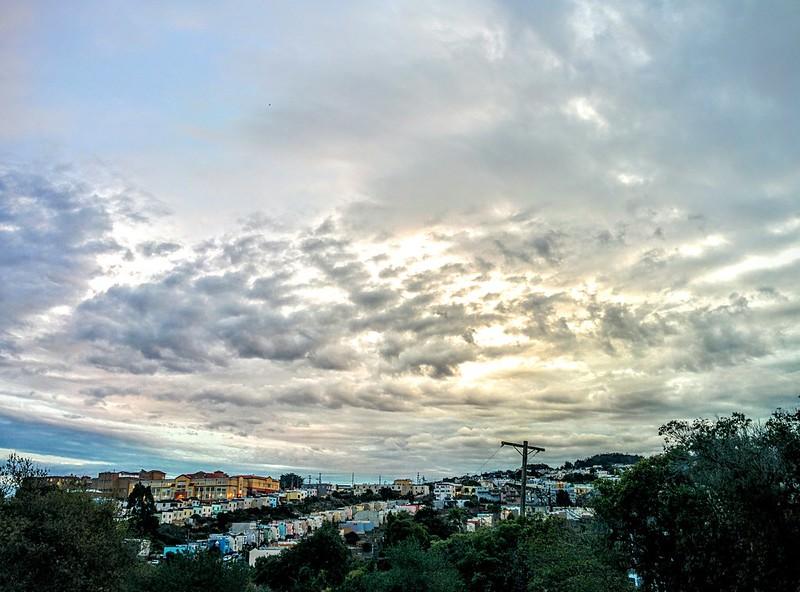 Colin Portus Cloudy Portola Sunset