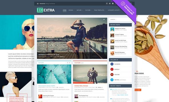 Extra v2.0.50 - Elegantthemes Premium Wordpress Theme