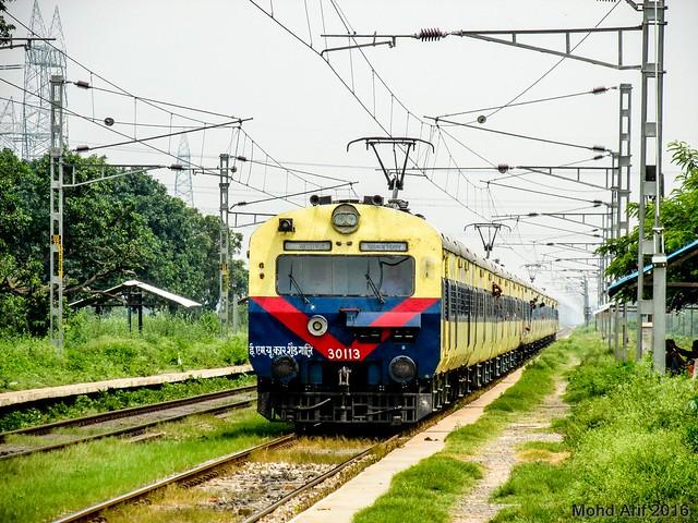 64553 Moradabad - Delhi Anand Vihar MEMU