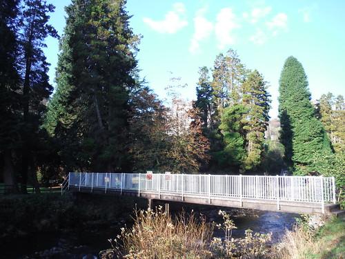 Craig y Nos Country Park, bridge over Afon Tawe