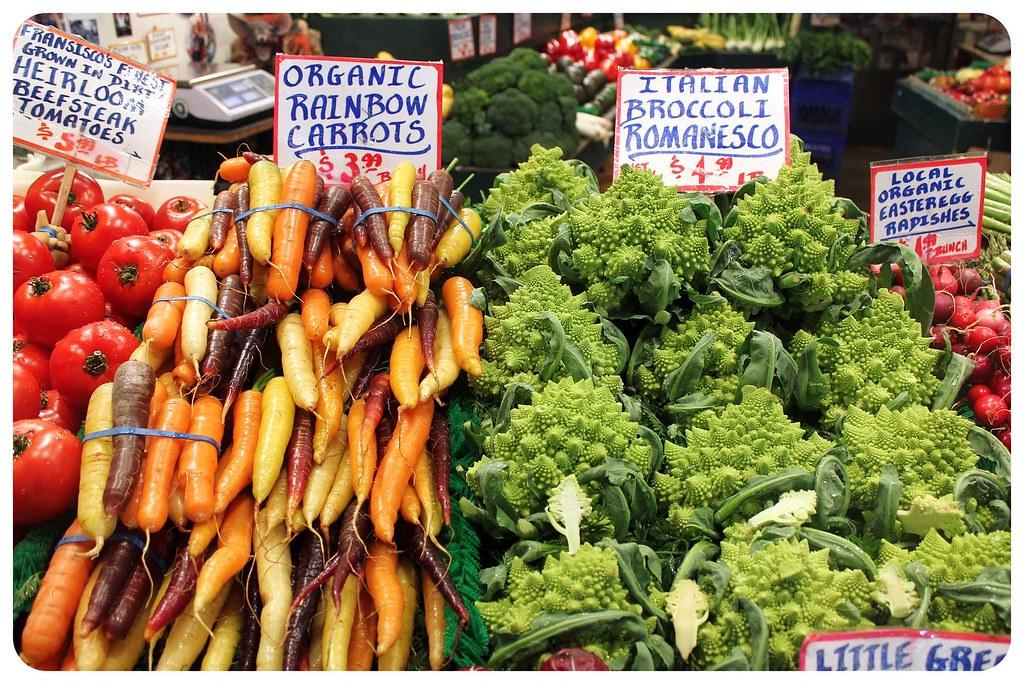 seattle pike place market veggies