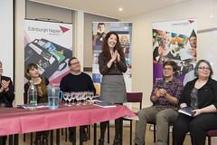 Panel celebrate award winner