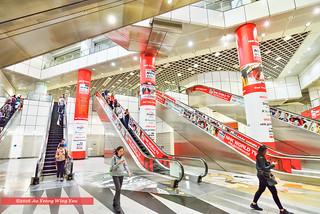 Singapore 2016: Dhoby Gaut Underground Train Station