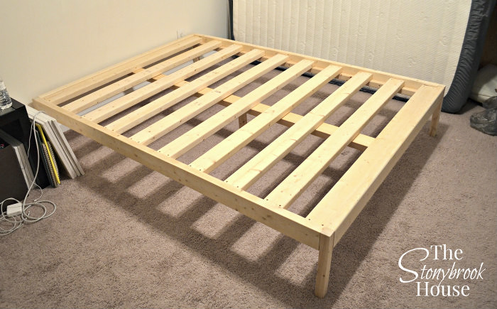 Bed Frame Installed