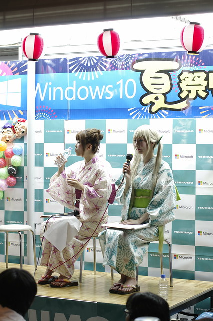 TSUKUMO eX. Windows 10 DSP版 発売記念イベント 01