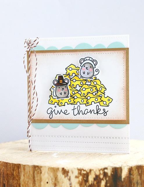 thankful mice {lawn fawn}
