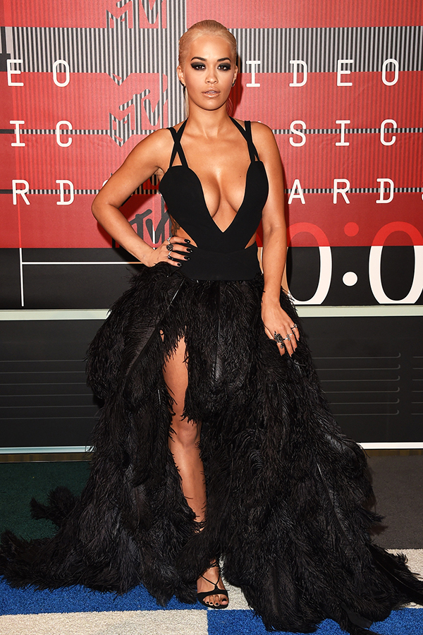 2015 MTV VMA Best Dressed - Rita Ora in Vera Wang