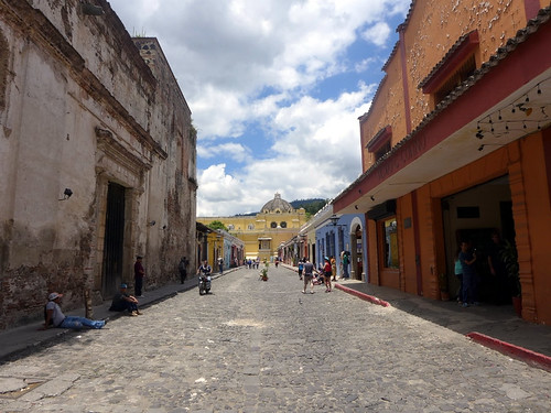 Calle en Antigua