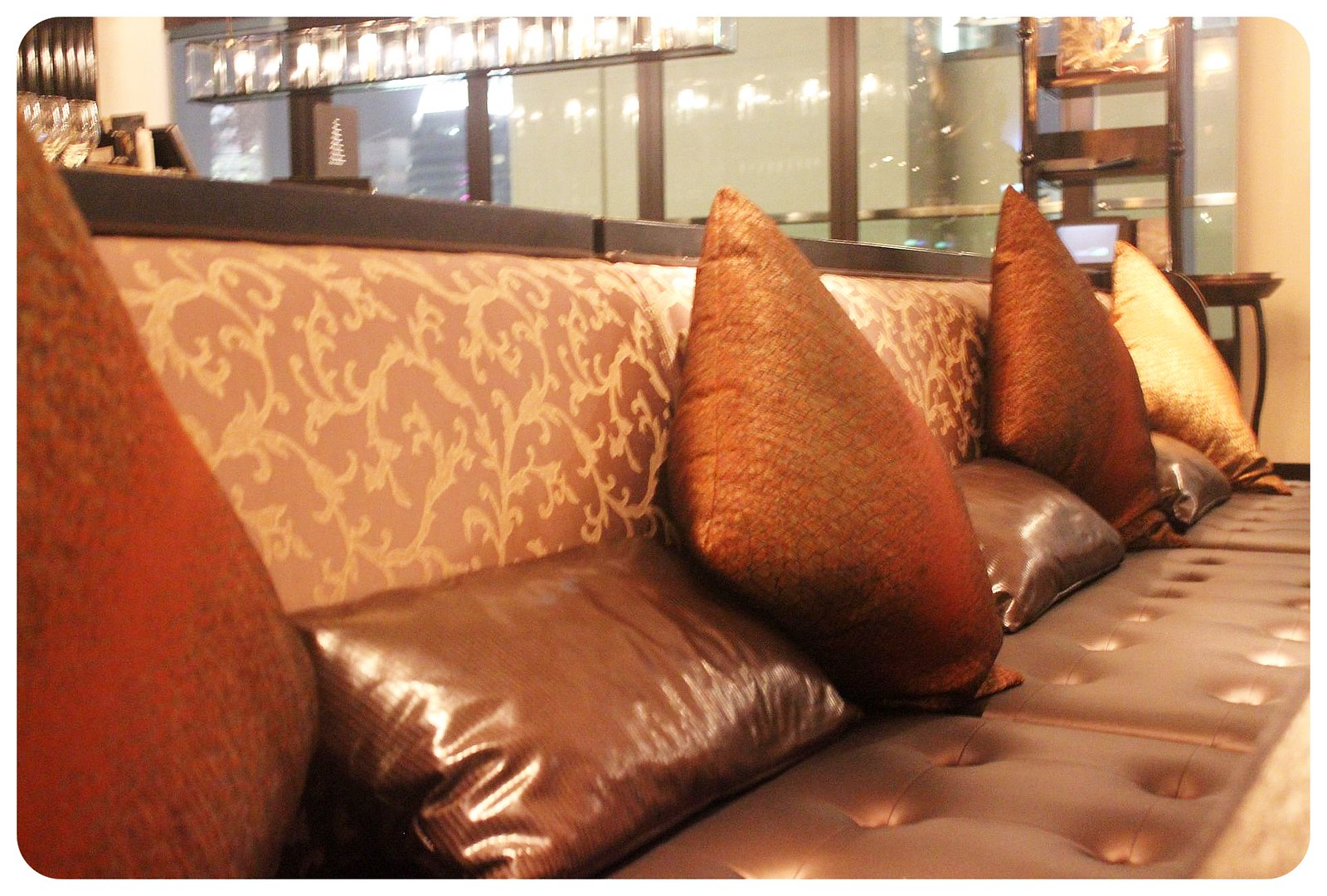 LKF hotel Hong Kong azure sofa