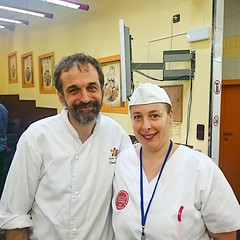 "With Master bread maker and book author of ""Creative breads"" Daniel Jordà"