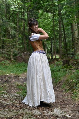 Shooting corset rococo
