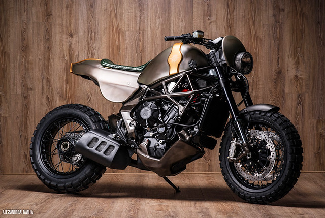 Officine GP Design Untameable - MV Agusta Rivale