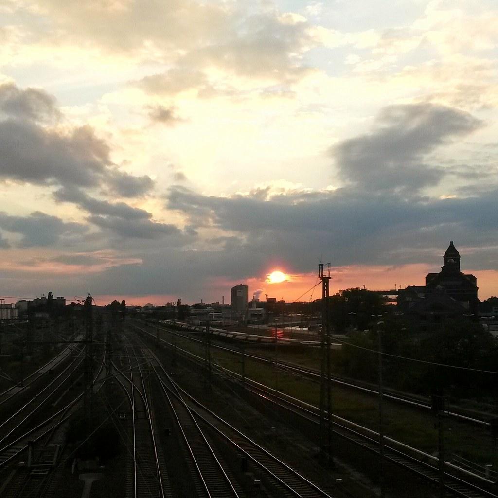 Sunset in Berlin