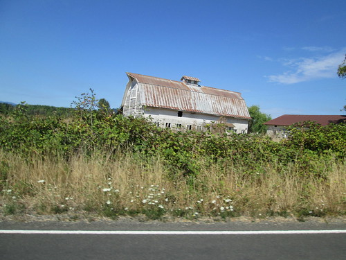 Barn along the way