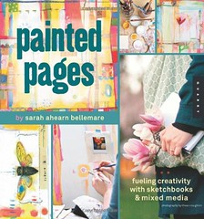 Painted pages by Sarah Ahern