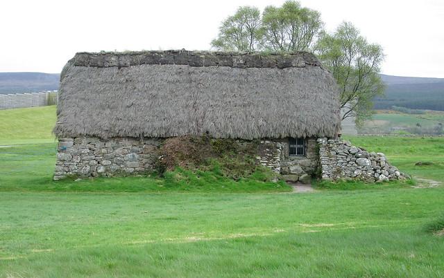Culloden Battlefield House Rear View