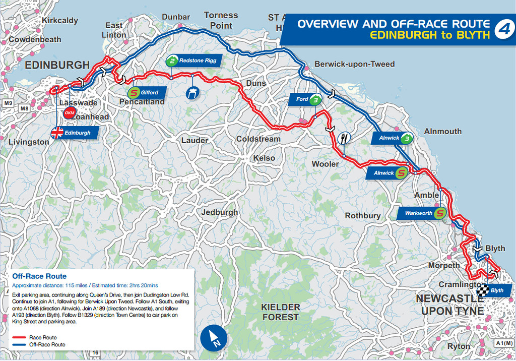 Avidya World Map.Tour Of Britain Stage 4 Edinburgh To Blyth Spoilers Bikeradar