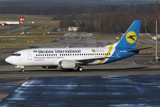 Ukraine International Airlines - UIA Boeing 737-36N UR-GAN
