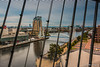 Salford Quays from Imperial War Museum by Splendid What