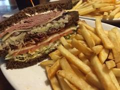 Bavarian club sandwich