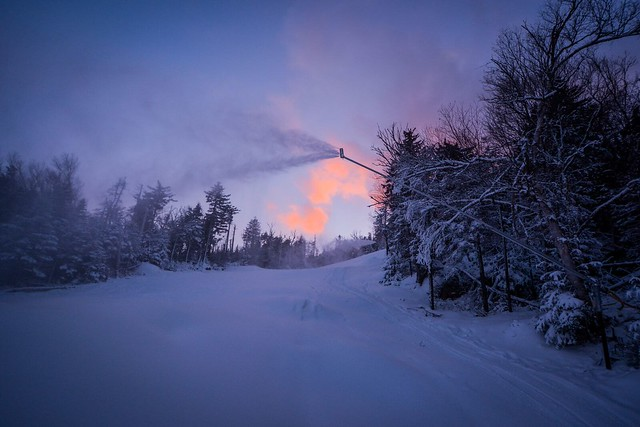 Gore Mountain snowmaking