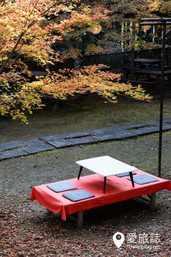 京都赏枫景点 神护寺 高雄茶屋 11