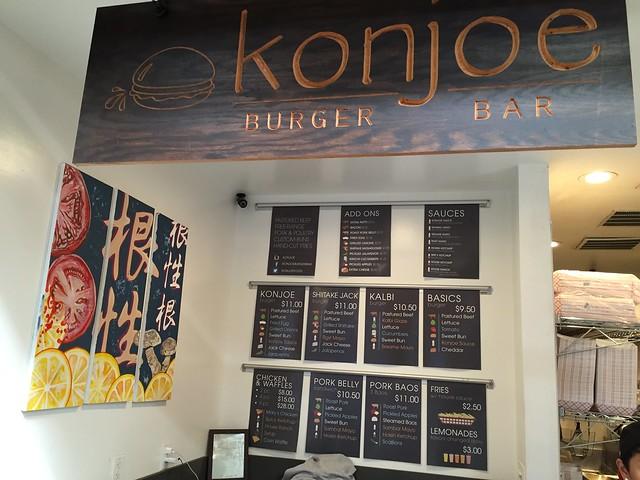 Konjoe Burger Bar