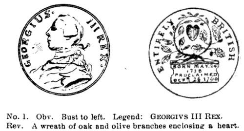 GEORGE III 1760 Medal