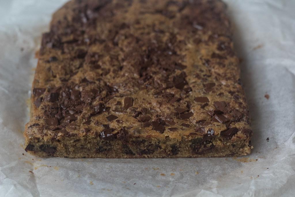Banan brownie med chokoladestykker (10)