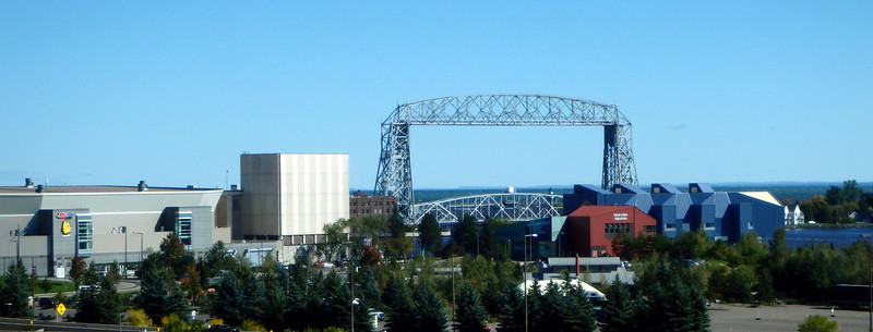 lift bridge between the arena and the aquarium