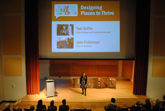 Inspire Speakers Series: Designing Places to Thrive, with Toni Griffin and John Fetterman
